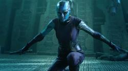 Karen Gillan in Guardians of the Galaxy.