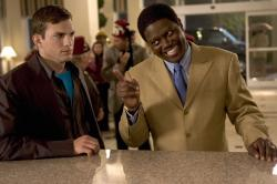 Ashton Kutcher and Bernie Mac in Guess Who.