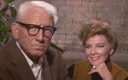 Spencer Tracy and Katharine Hepburn in Guess Who's Coming to Dinner.