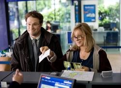 Seth Rogen and Barbra Streisand in The Guilt Trip.