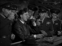 Eddie Bracken, William Demarest and fellow marines in Hail the Conquering Hero.