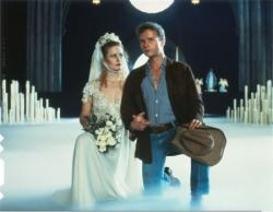 Beverly D'Angelo and John Savage in a drug induced hallucination from Hair