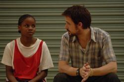 Shareeka Epps and Ryan Gosling in Half Nelson.