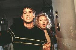 Josh Hartnett and Michelle Williams in Halloween H20