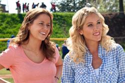 Jenna Fischer and Christina Applegate in Hall Pass.