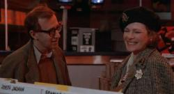 Woody Allen and Dianne Wiest in Hannah and Her Sisters.