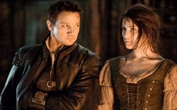 Jeremy Renner and Gemma Atherton as Hansel and Gretel.