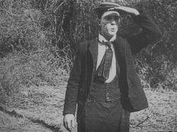 Buster Keaton in Hard Luck.
