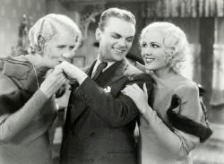 Ruth Donnelly, James Cagney, and Mary Brian in Hard to Handle.