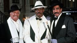Redd Foxx, Eddie Murphy, and Richard Pryor in Harlem Nights.