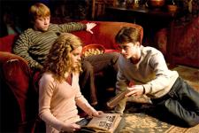 Ron, Hermione and Harry are growing up.
