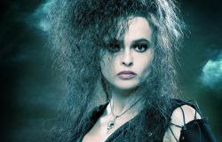 Helena Bonham Carter as Bellatrix Lestrange in Harry Potter and the Order of the Phoenix.