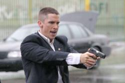 Christian Bale in Harsh Times.