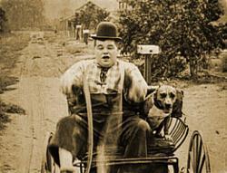 Roscoe Arbuckle in The Hayseed.