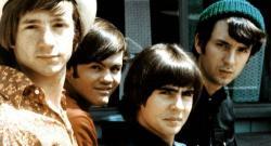 Peter Tork, Mickey Dolenz, Davy Jones and Michael Nesmith in Head.