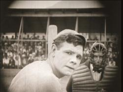Babe Ruth in Headin Home