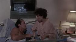 Jack Nicholson and Meryl Streep in Heartburn.