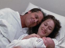 Jack Nicholson and Meryl Streep in Heartburn