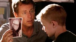 Greg Kinnear and Connor Corum in Heaven is for Real