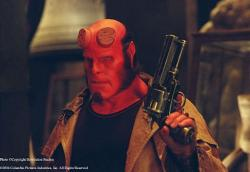 Ron Perlman in Hellboy.