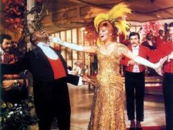 Louis Armstrong and Barbra Streisand in Hello Dolly!.