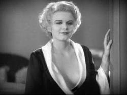 Jean Harlow in Howard Hughes' Hell's Angels.