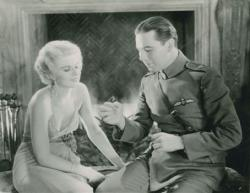 Jean Harlow and Ben Lyon in Hell's Angels