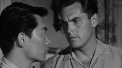 George Takei and Jeffrey Hunter.  From Hell to Eternity to Star Trek alumni.