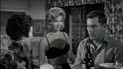 Michi Kobi, Patricia Owens and Jeffrey Hunter in Hell to Eternity.