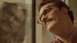 Joaquin Phoenix in Her.