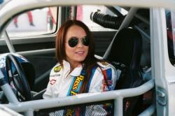 Lindsay Lohan in Herbie: Fully Loaded.