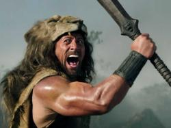 Dwayne Johnson is Hercules