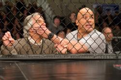 Henry Winkler and Bas Rutten in Here Come the Boom