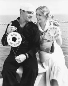 James Cagney and Gloria Stuart in Here Comes the Navy.