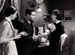 Aline MacMahon, Richard Barthelmess and Loretta Young in Heroes for Sale.