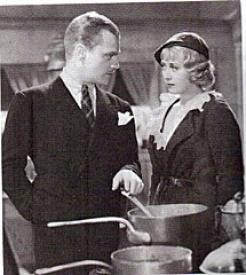James Cagney and Joan Blondell in He Was Her Man.