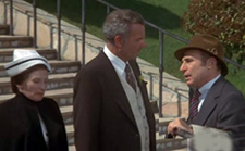 Cloris Leachman, Harvey Korman and Mel Brooks in the Hitchcock inspired, Brooks directed, High Anxiety.