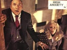 Mel Brooks and Madeline Kahn spoof a scene from Vertigo.