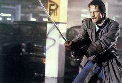 Christopher Lambert in Highlander.