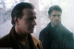 Christopher Lambert and Adrian Paul in Highlander: Endgame.