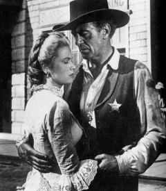 22 year old Grace Kelly and 51 year old Gary Cooper in High Noon
