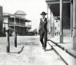 Gary Cooper in High Noon.