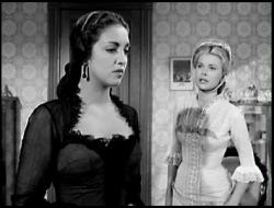 Katy Jurado and Grace Kelly in High Noon.