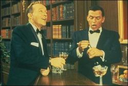 Bing Crosby and Frank Sinatra in High Society.