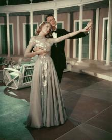 Grace Kelly and Frank Sinatra in High Society.