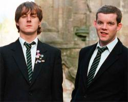 Andrew Knott and Russell Tovey in The History Boys
