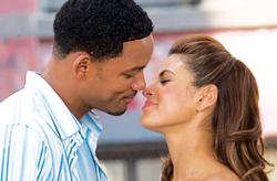 Will Smith and Eva Mendes in Hitch.