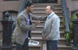Will Smith and Kevin James in Hitch.