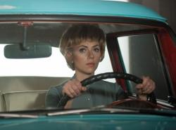 Scarlett Johansson as Janet Leigh in Hitchcock.