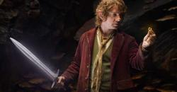 Bilbo makes a monumental discovery in The Hobbit.